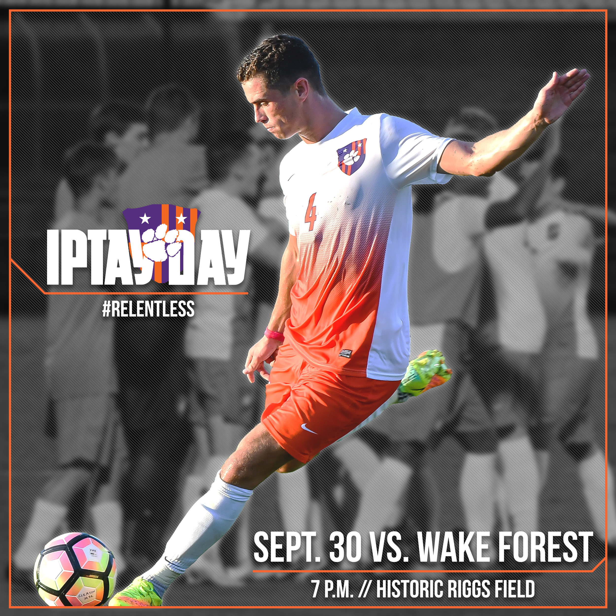 Join Us For IPTAY Day At Clemson Soccer