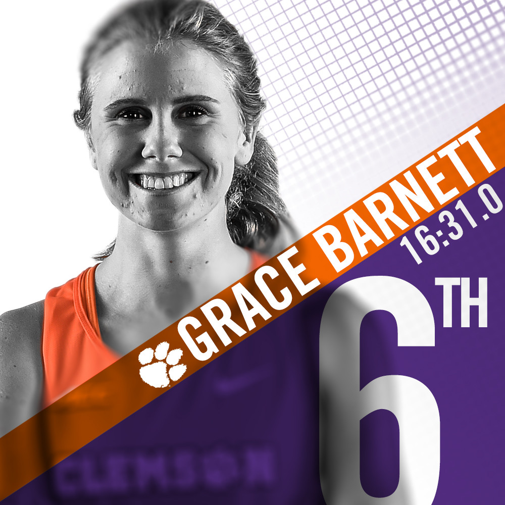 Barnett Finishes Sixth at Notre Dame