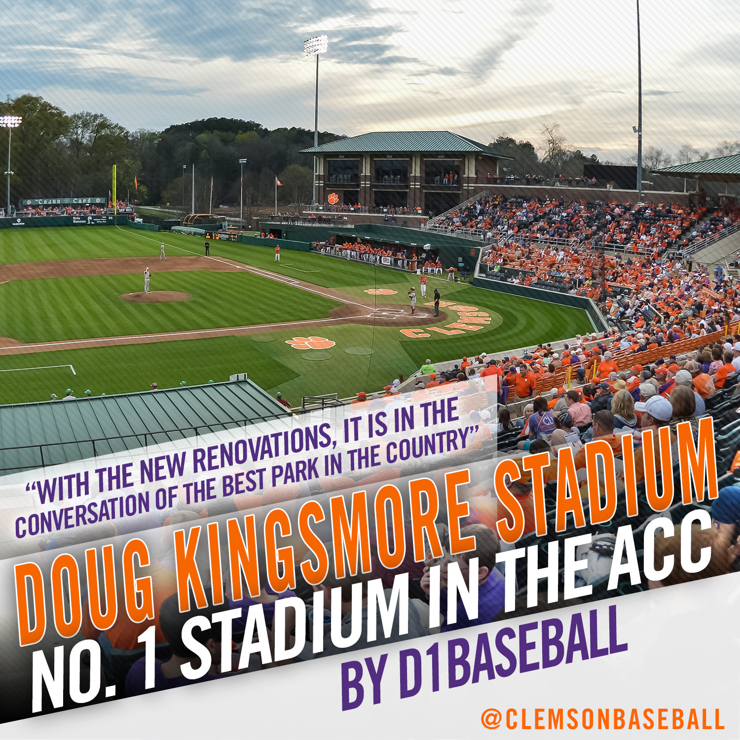 DKS Voted ACC's Top Ballpark