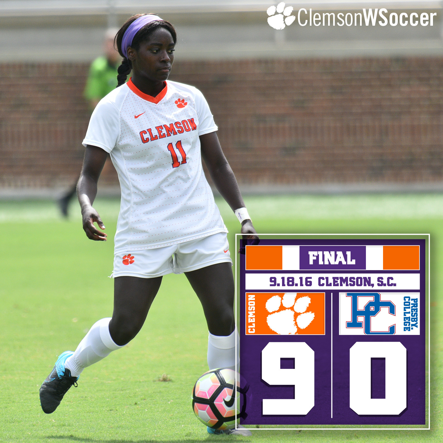 Atanda?s Hat Trick Leads Tigers? Offensive Onslaught Over PC Sunday