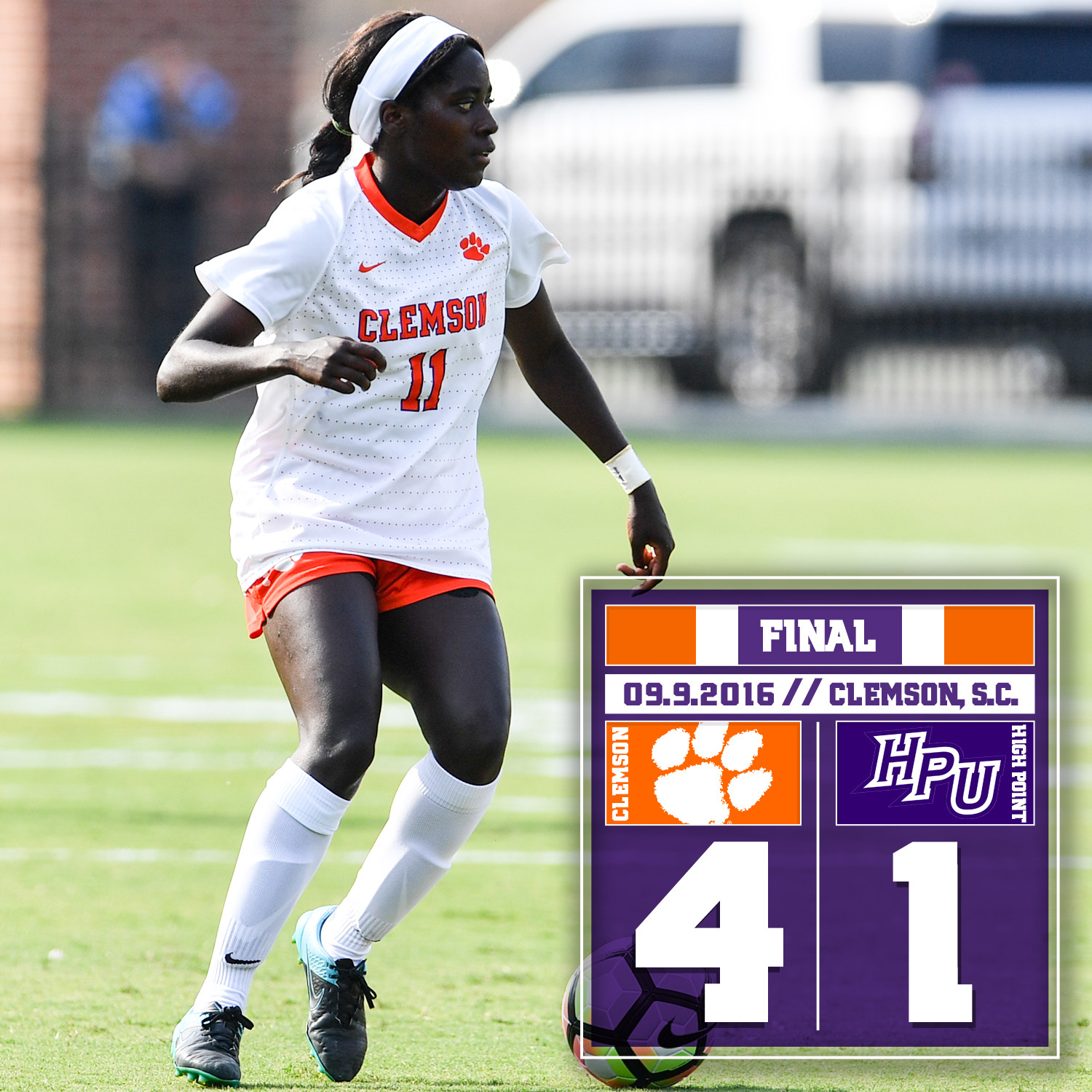 #13 Tigers? Offense Too Much for High Point in 4-1 Victory