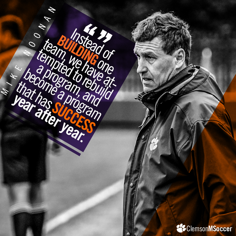 Mike Noonan Has Redefined Winning at Clemson