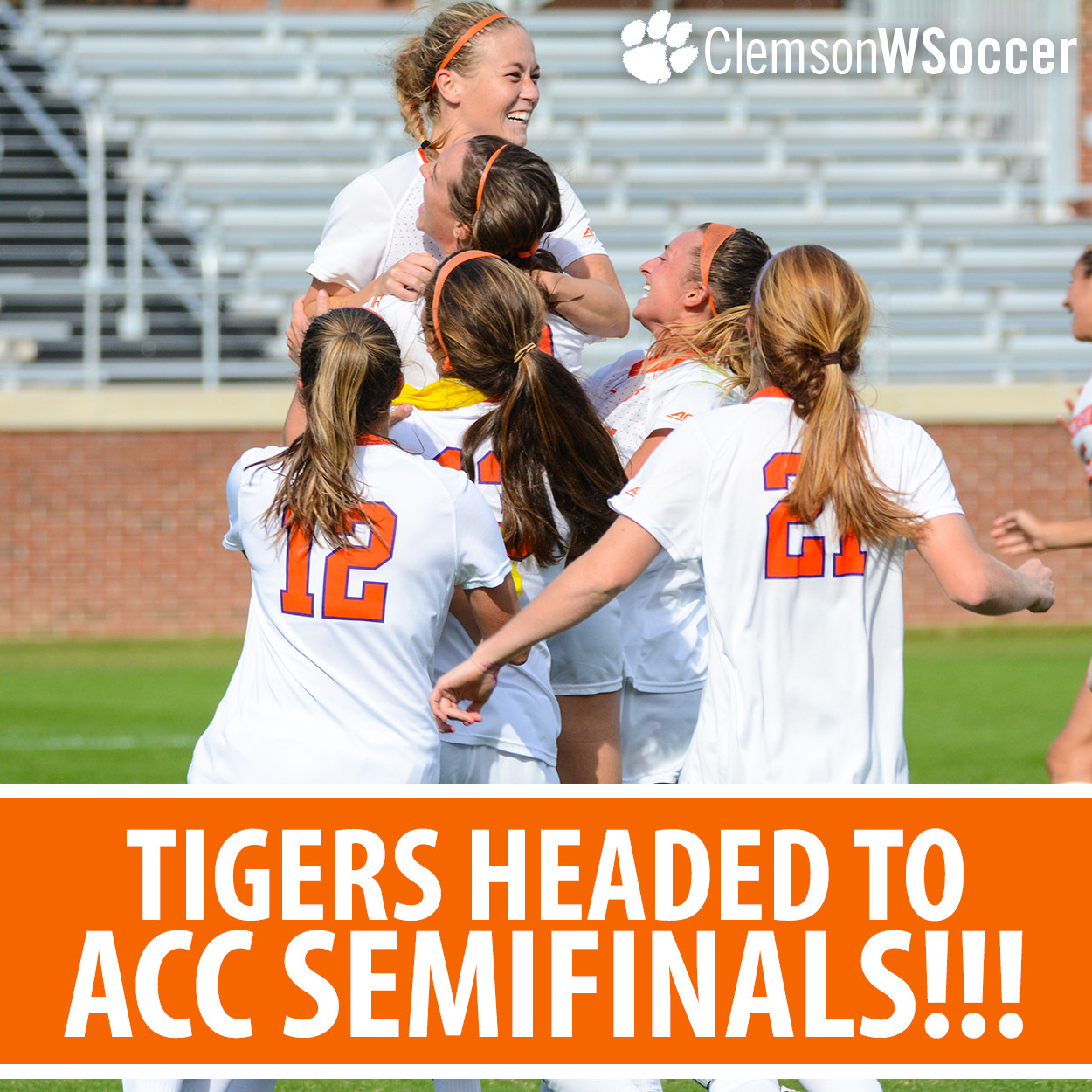 No. 14 Clemson Advances to ACC Semifinal in Thrilling Fashion, Downing Miami in PKs