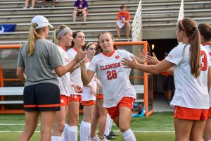 Play video: Clemson Women's Soccer || Clemson Advances 5-4 in PKs over Miami