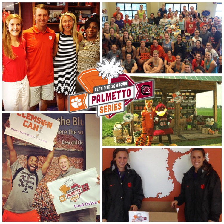 Help Fight Hunger, Support Clemson in the Palmetto Series Food Drive