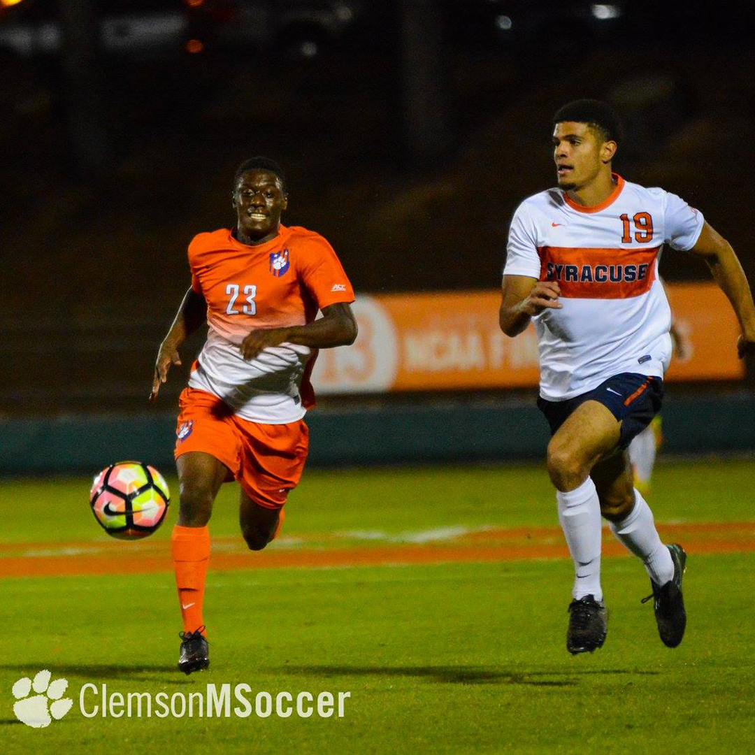 No. 8 Clemson Draws with No. 6 Syracuse Friday