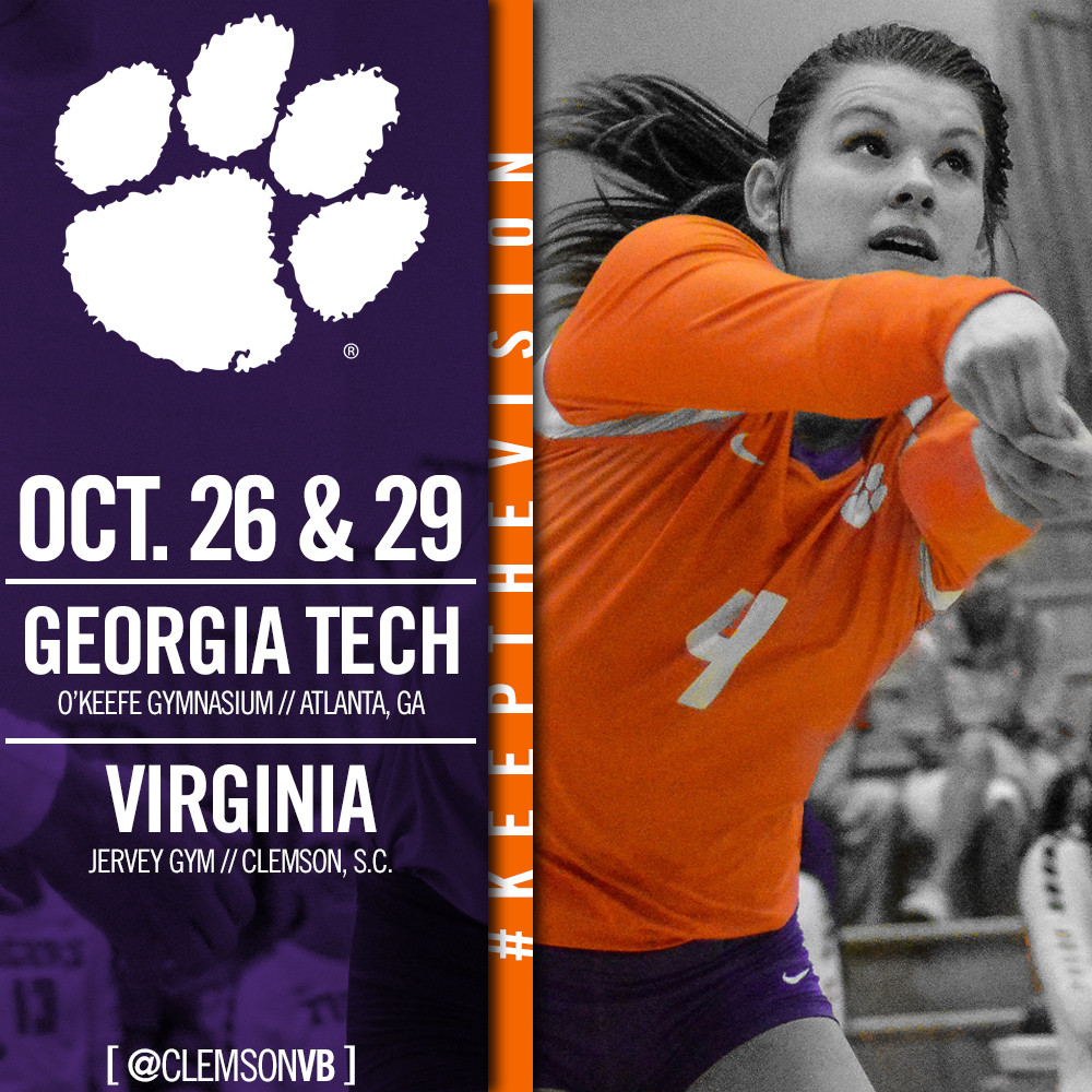 Tigers Set For First Round Of ACC Rematches