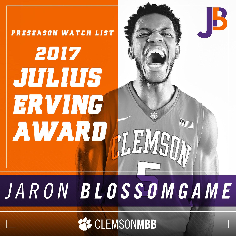 Blossomgame Named to Julius Erving Watch List