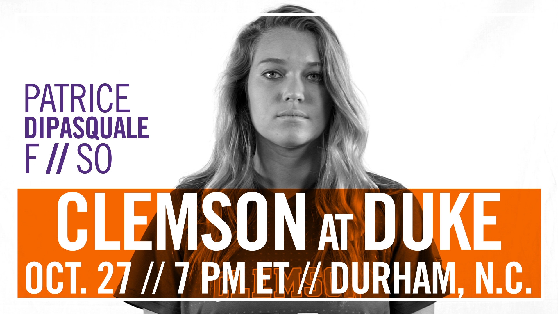 No. 14 Clemson Heads to No. 6 Duke with Share of ACC Title on the Line
