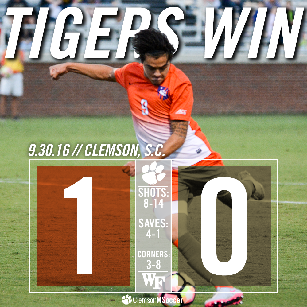 No. 5 Clemson Hands No. 11 Wake Forest First ACC Loss Friday