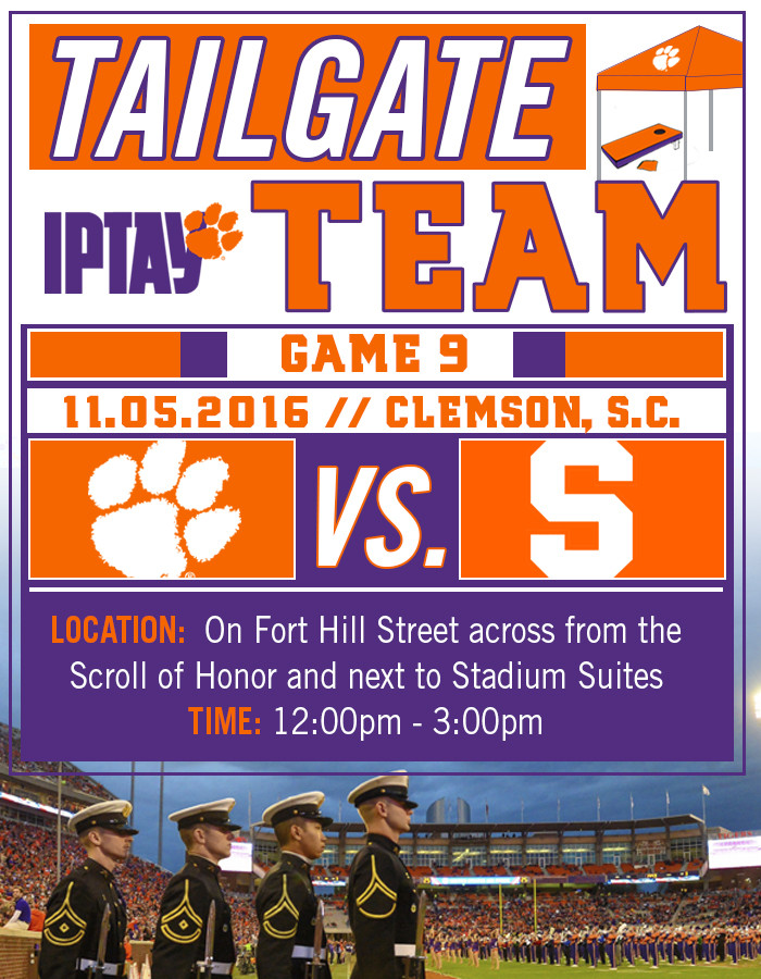 Tailgate Team Marches East Towards Scroll Of Honor For Military Appreciation Day vs. Syracuse
