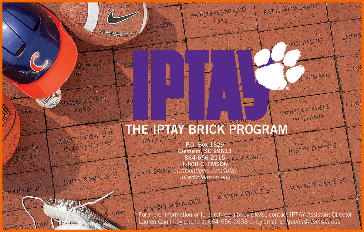 Leave Your Mark On Clemson's Championship Season. Purchase A Brick Today!