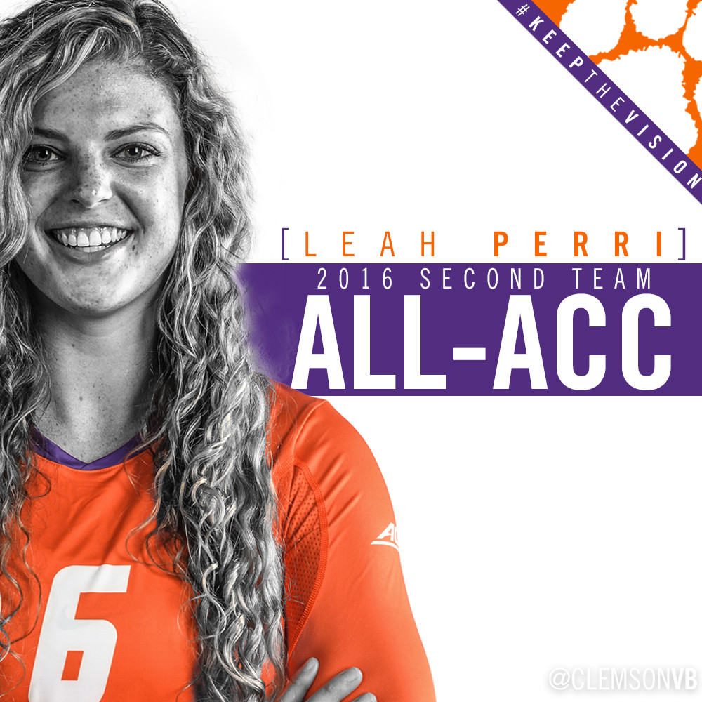 ACC Honors Leah Perri With All-Conference Nod