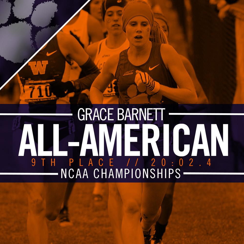 Barnett 9th at NCAA Nationals