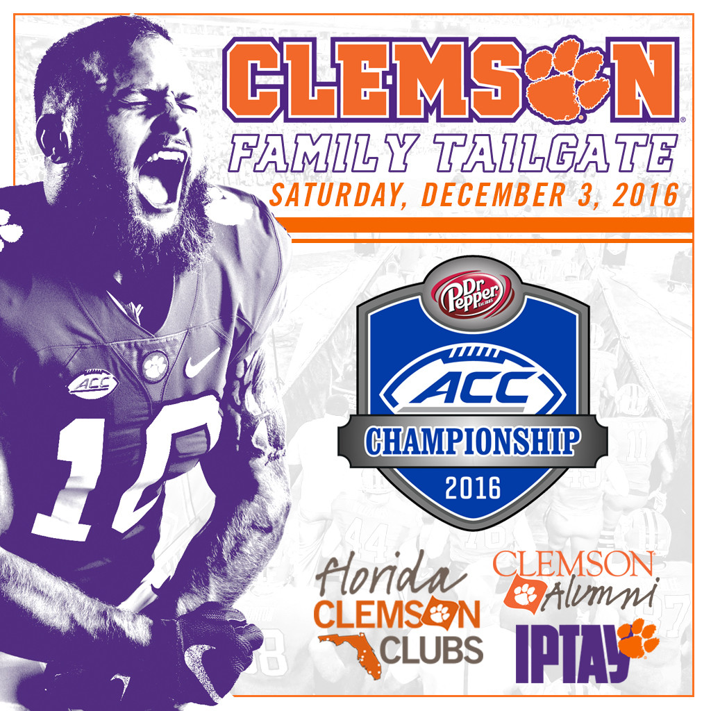 Join Us In Orlando For The Clemson Family Tailgate