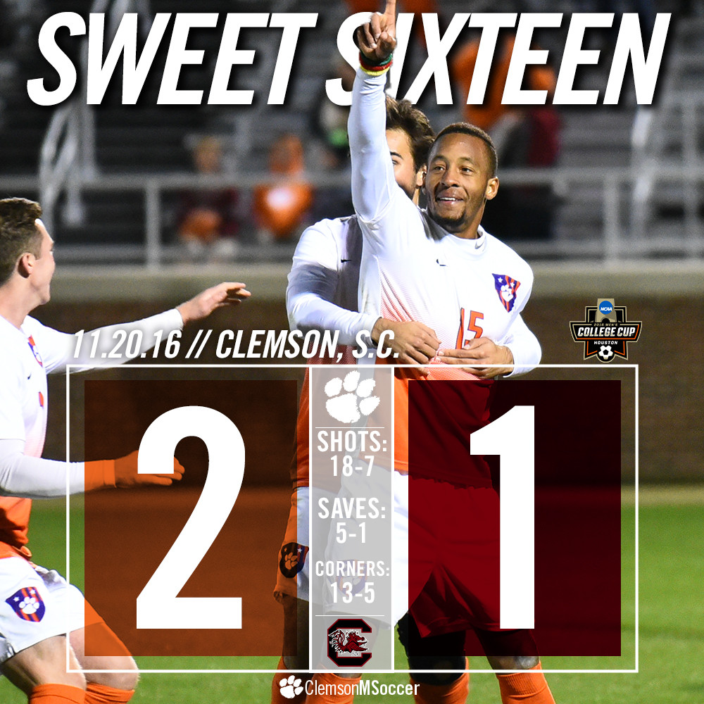Happi's Dagger Sends Clemson to The Sweet 16