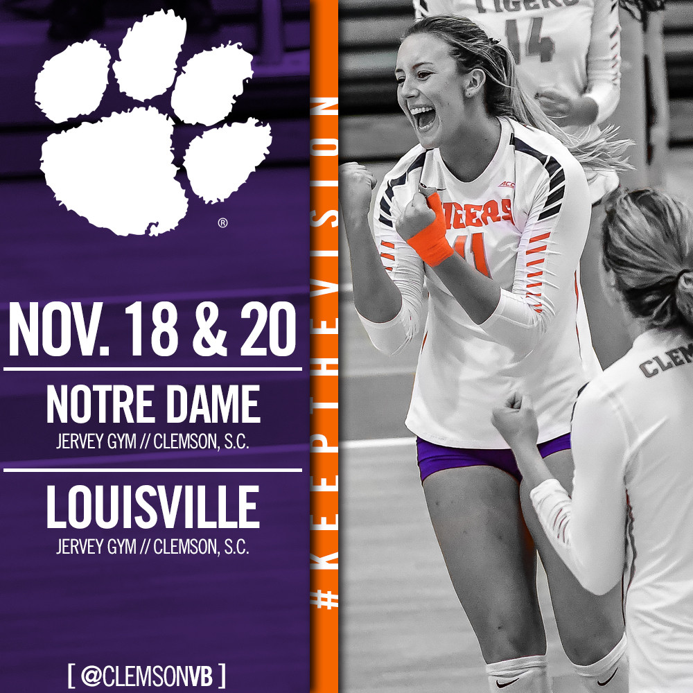 Clemson Set For Final Home Stand