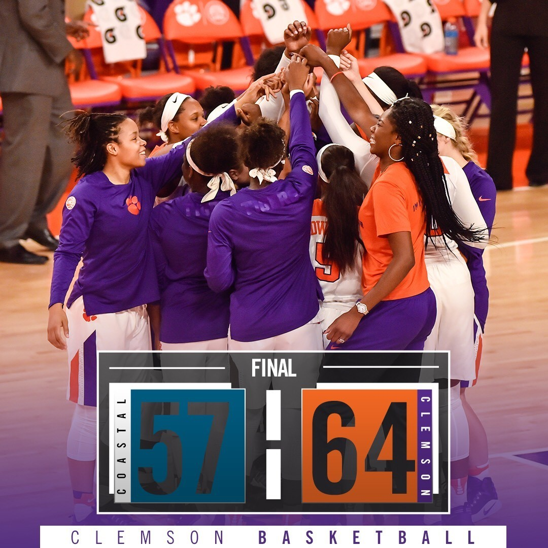 Alexander Leads Four Tigers in Double Figures in Season Opening Win Over Coastal Carolina