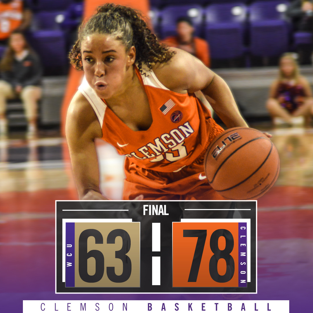 Clemson Moves to 2-0 with Win Over Western Carolina