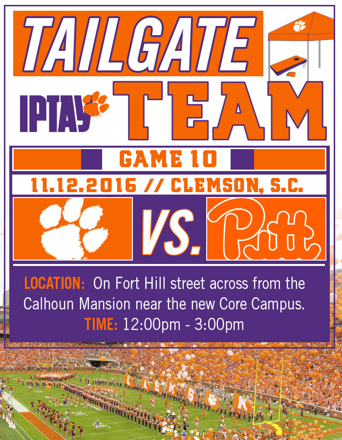 IPTAY Tailgate Team Heads East This Saturday
