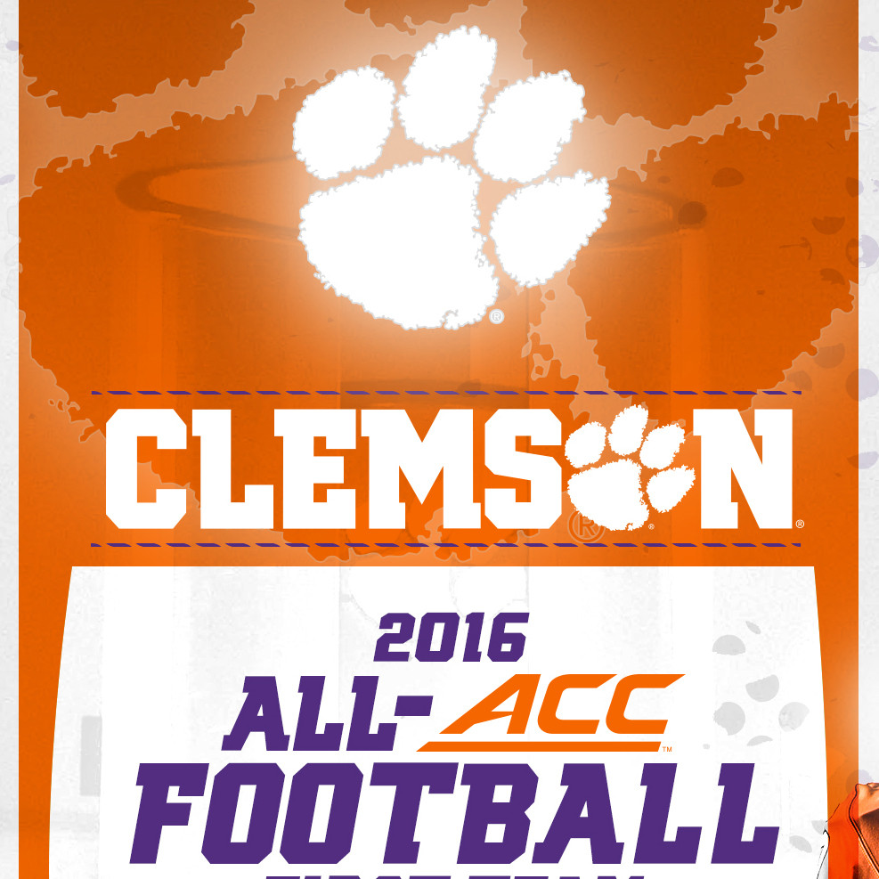 Nine Tigers Named First-team All-ACC