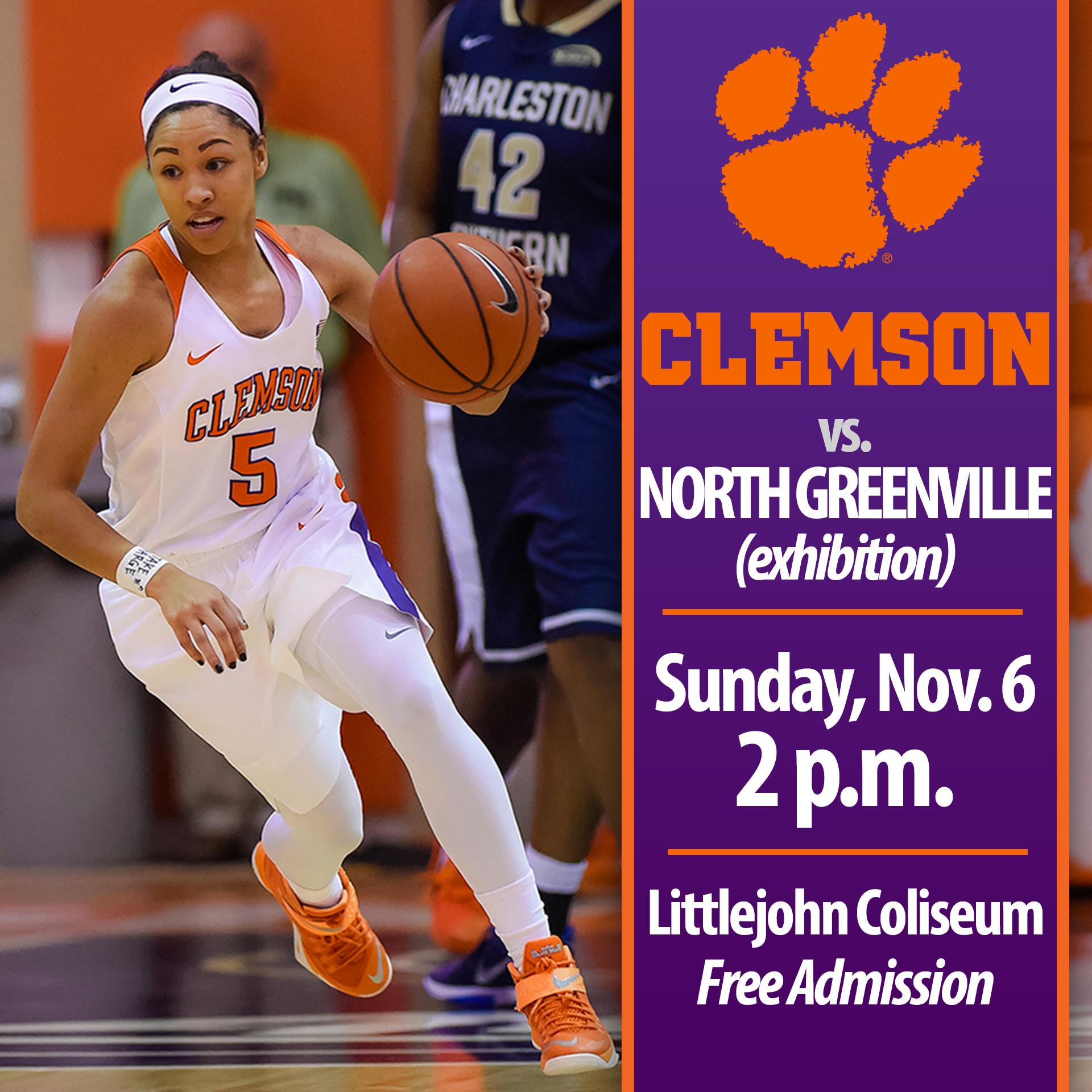 Tigers Host Exhibition vs. North Greenville Sunday