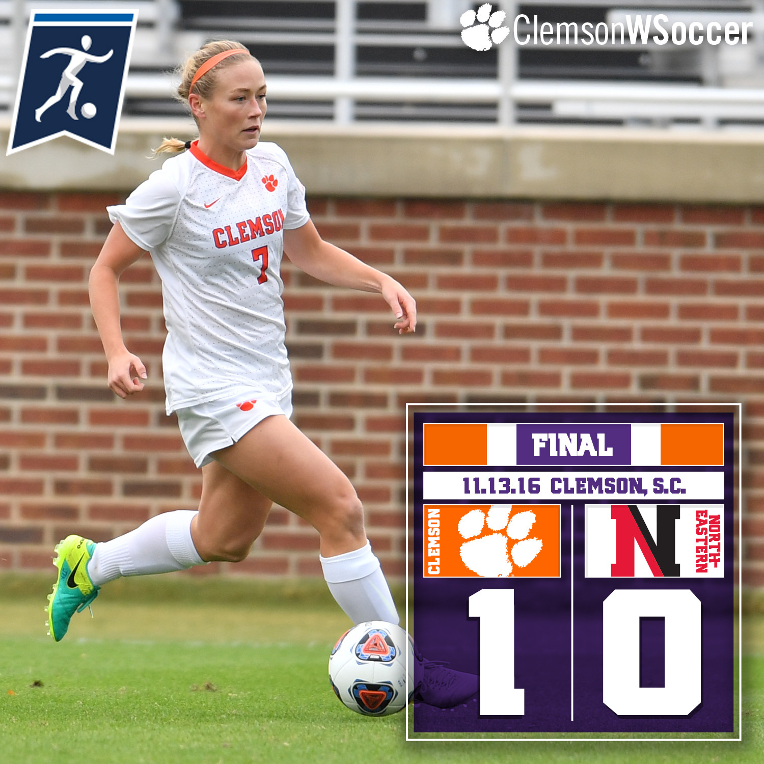 No. 12 Tigers Advance to NCAA Second Round with 1-0 Win Over Northeastern Sunday