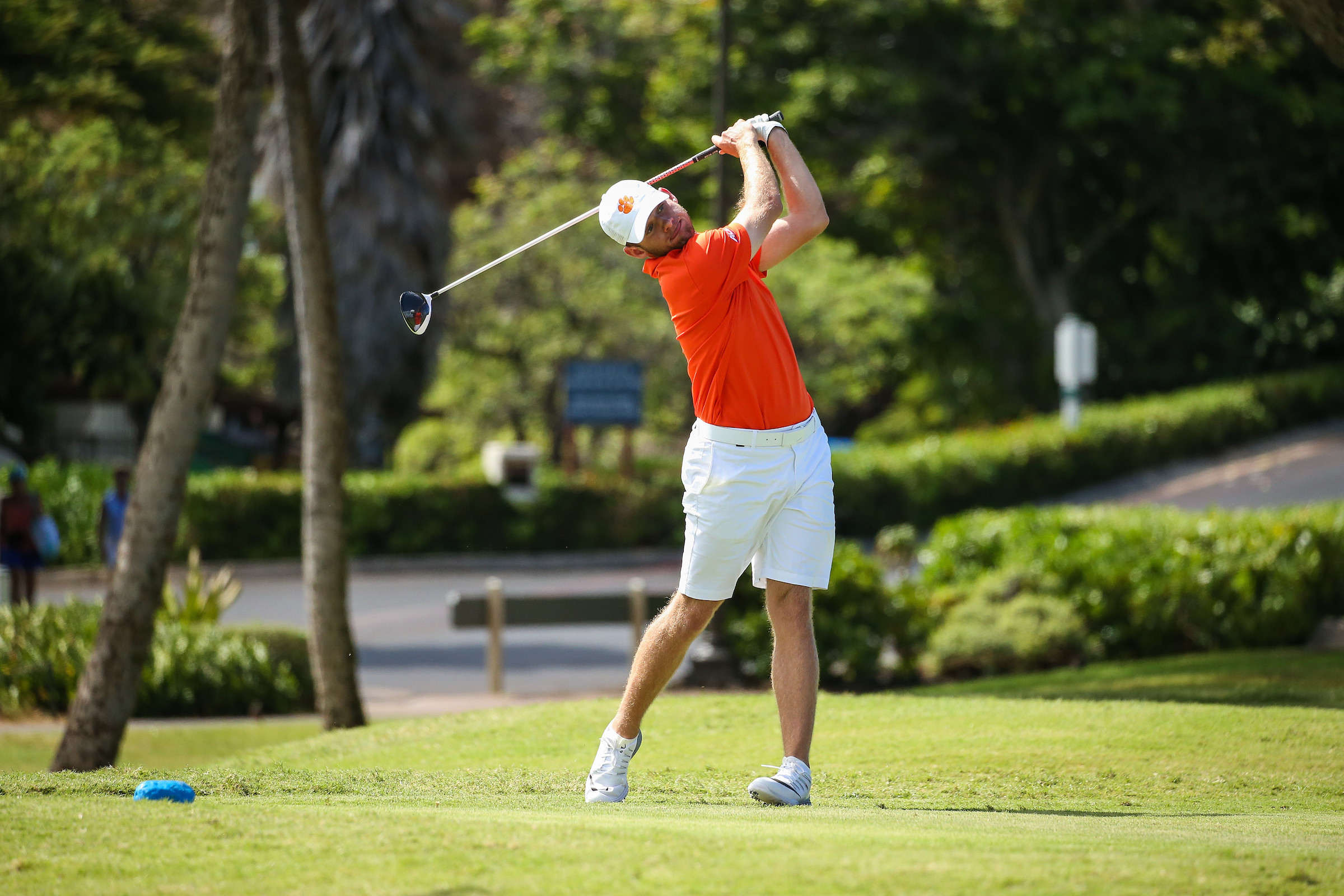 Clemson Tied for Fourth Entering Final Round in Hawaii