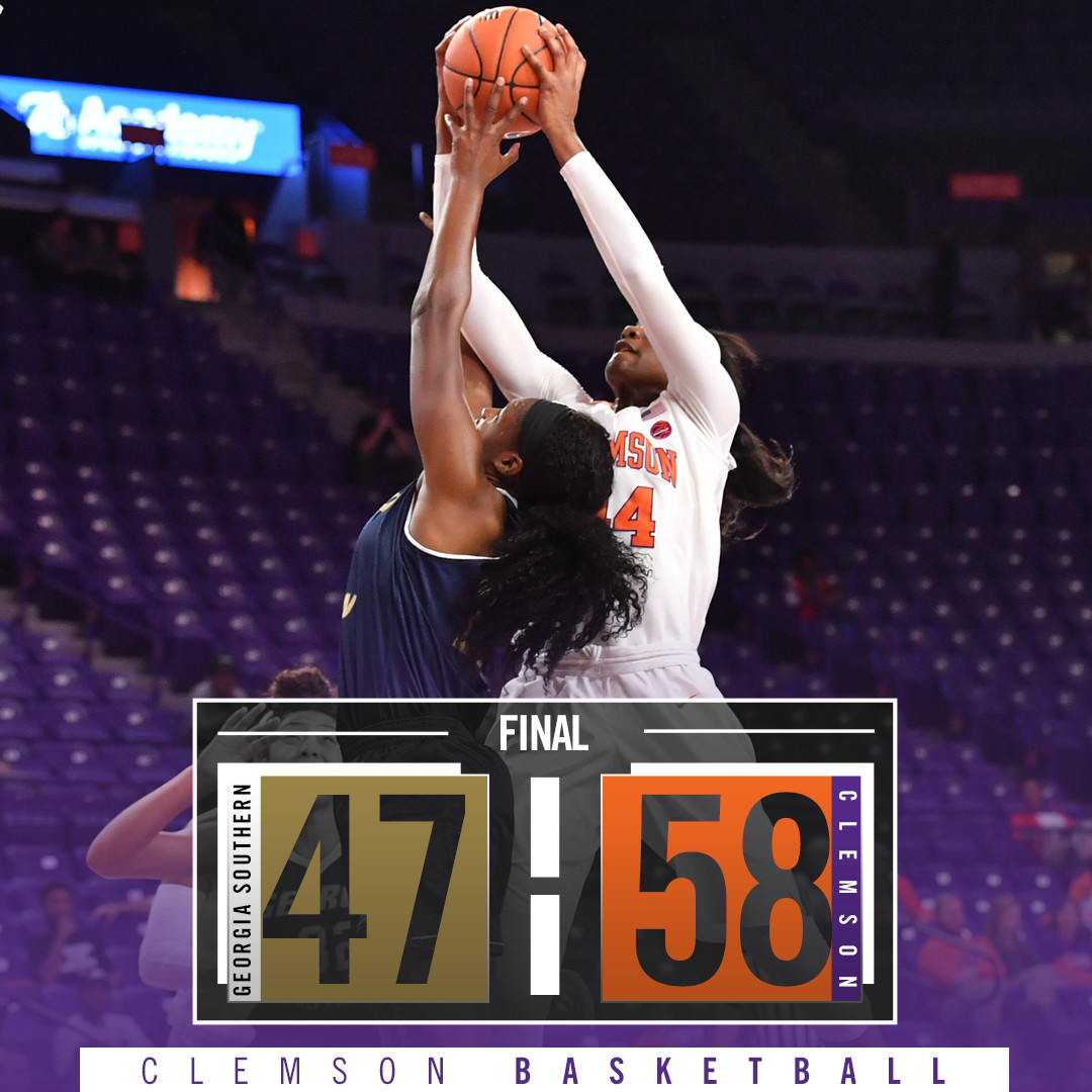 Thornton's Double-Double Lifts Tigers to Win Over Georgia Southern