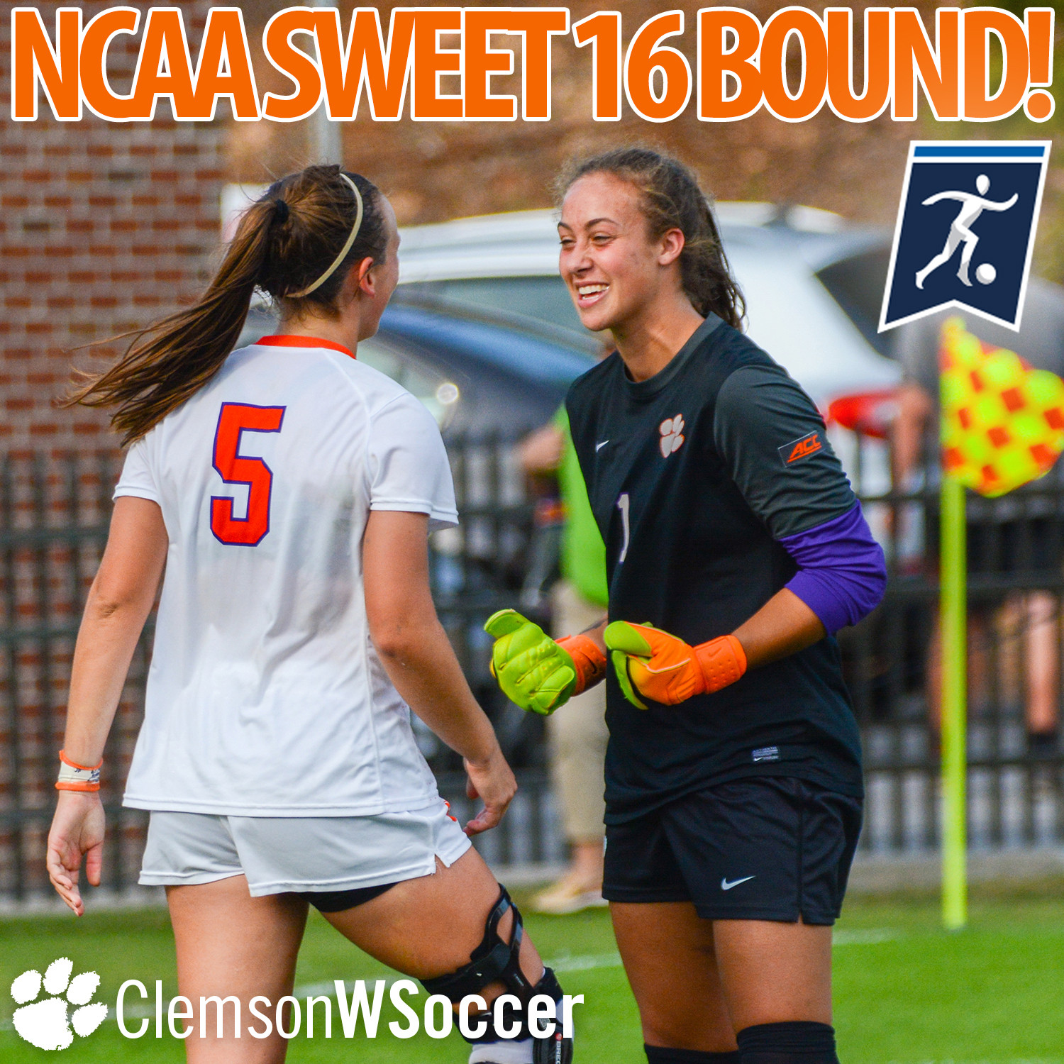 #12 Clemson Headed to NCAA Sweet 16 for First Time in 10 Years after Winning PKs vs. #17 Arkansas