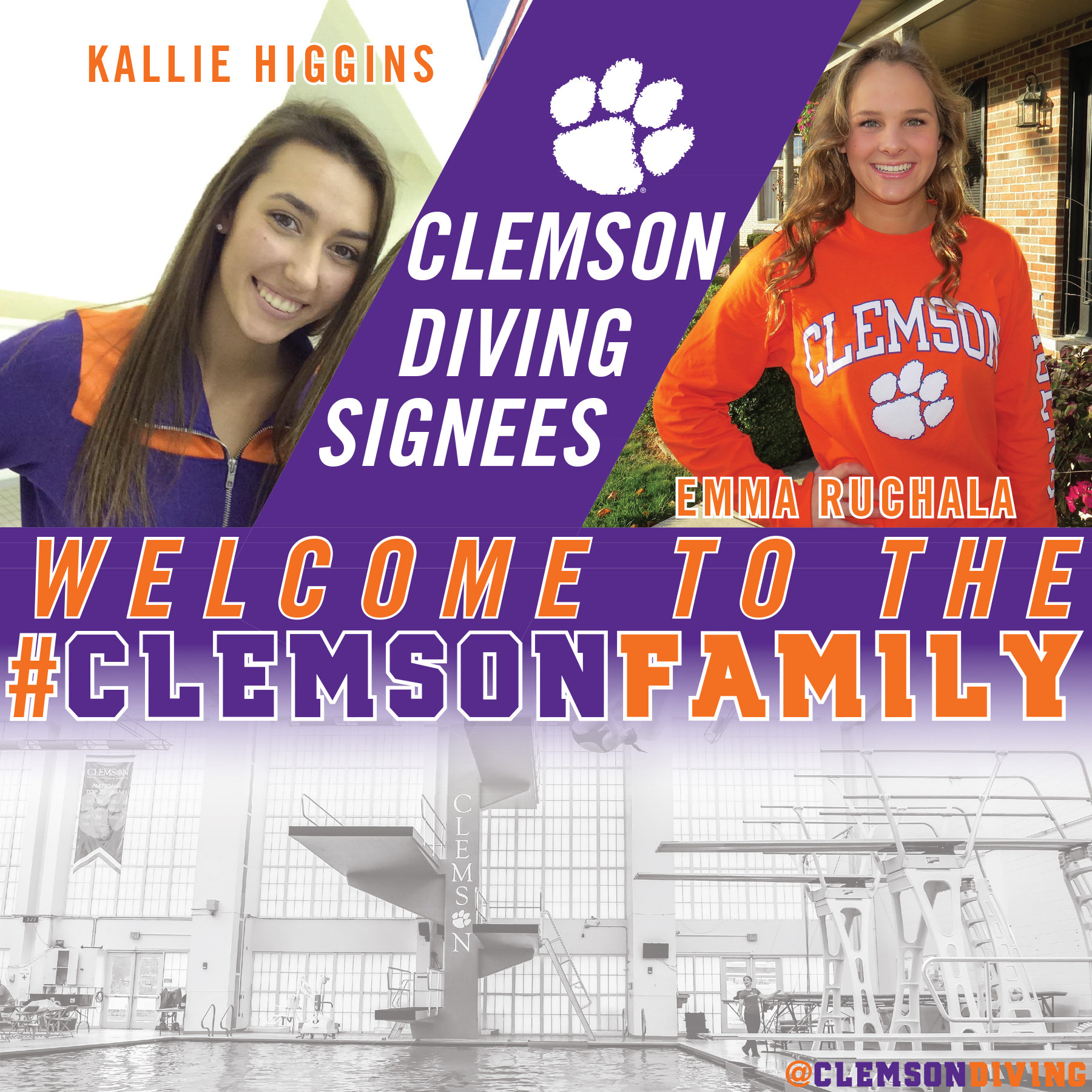 Diving Signs Two for 2017-2018