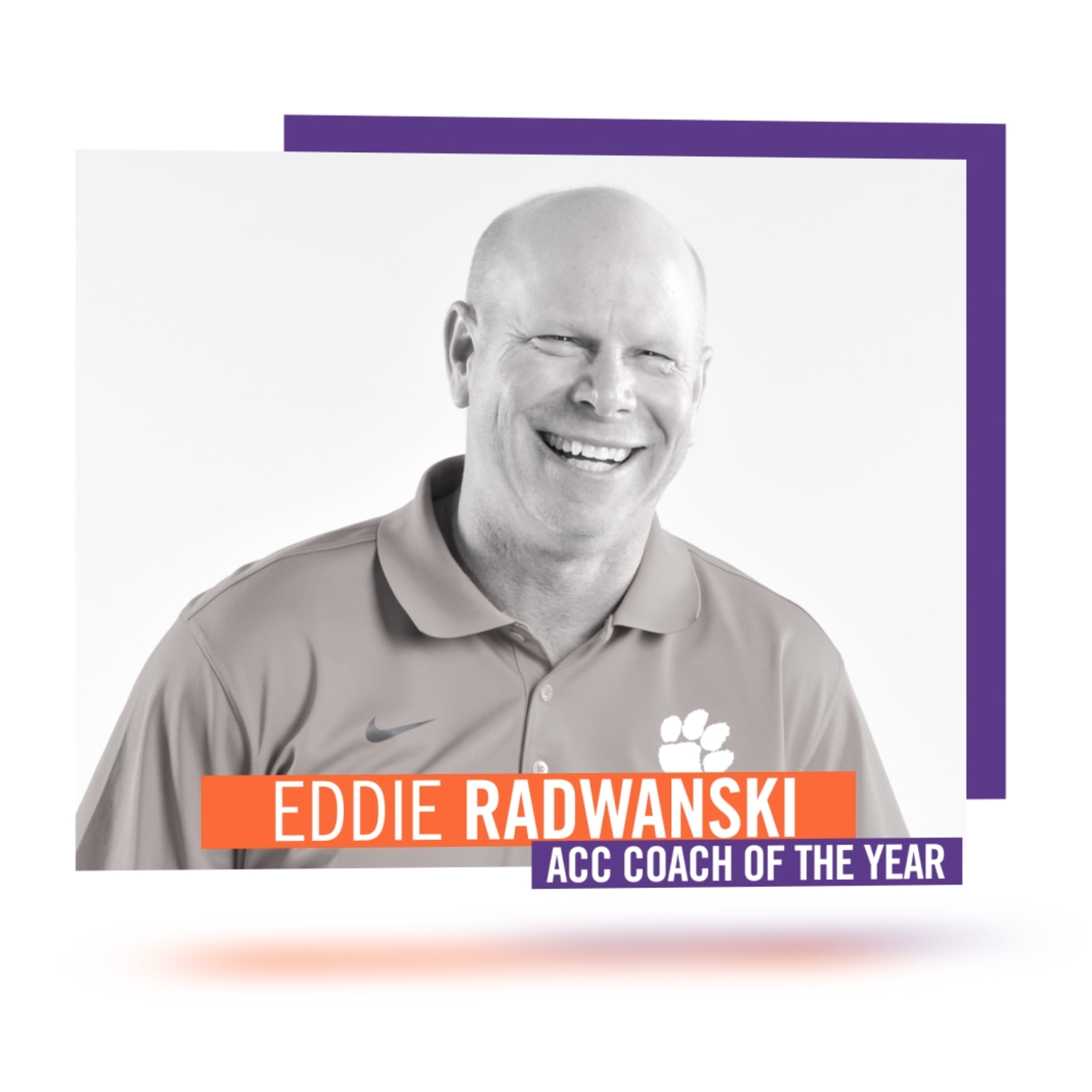 Radwanski Named ACC Coach of the Year, Four Tigers Earn All-ACC Honors