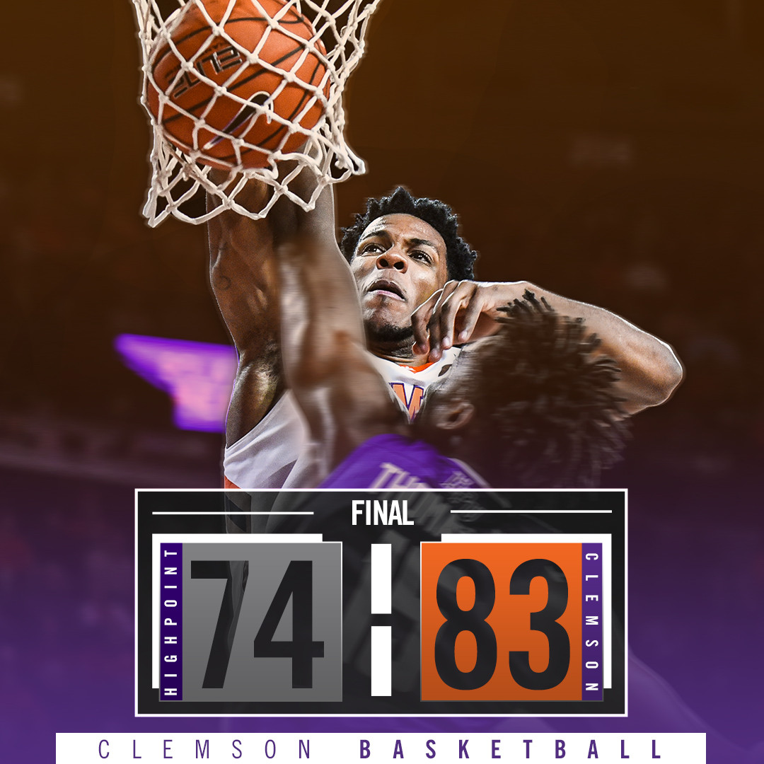 Tigers Beat High Point, 83-74