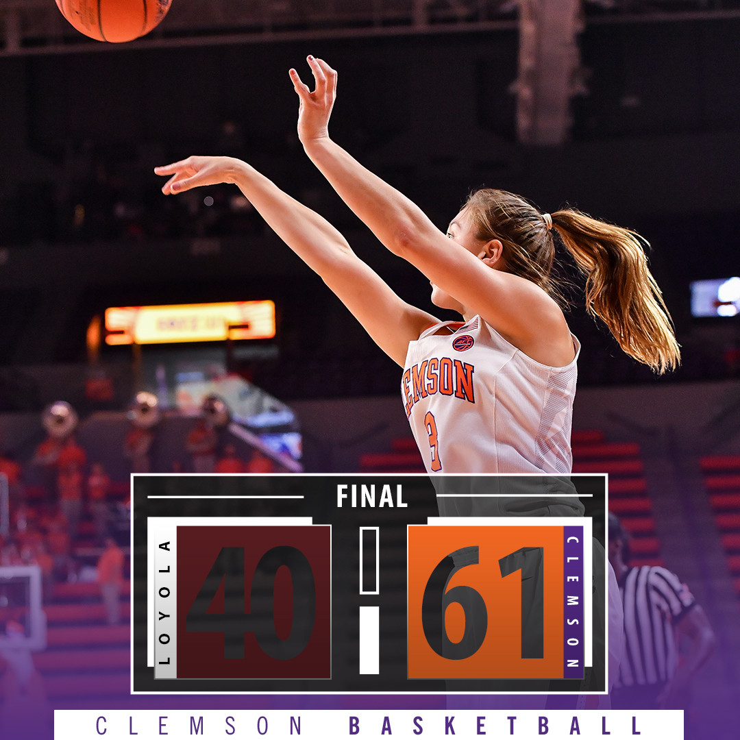 Tigers Down Loyola 61-40 for Thanksgiving Day Win & 6-0 Record