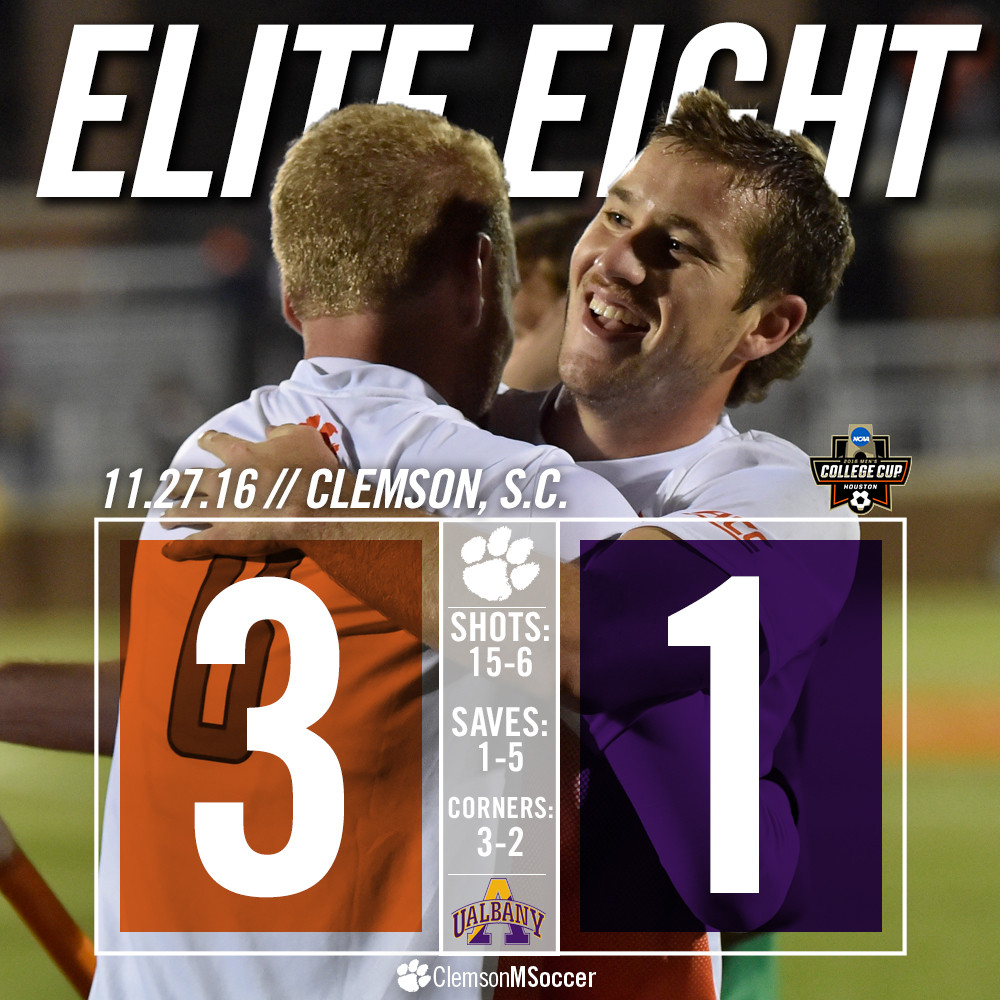 Clemson Continues Dancing to The Elite Eight