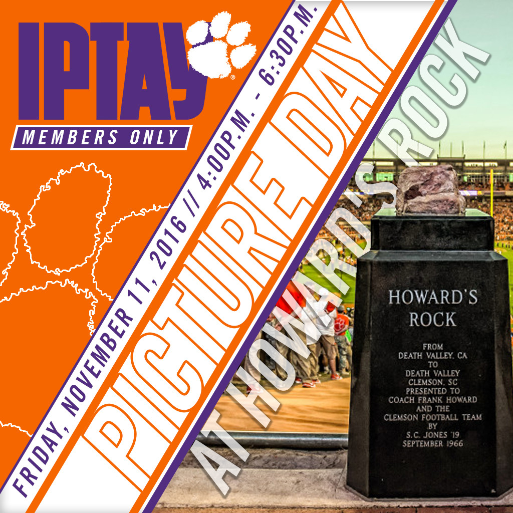 IPTAY Picture Day At Howard's Rock