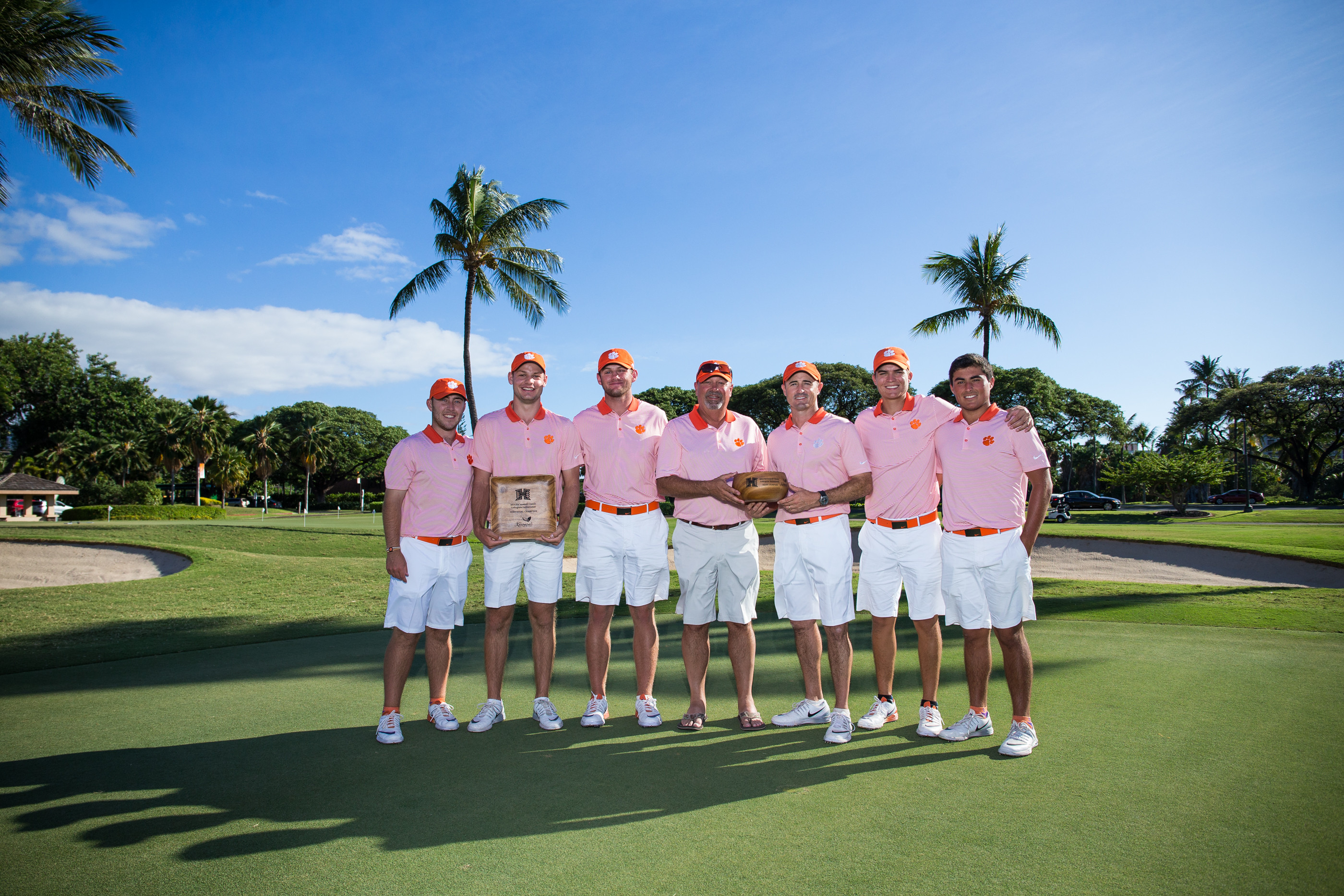 Clemson Overcomes 12-Shot Deficit to Win Ka'anapali Classic