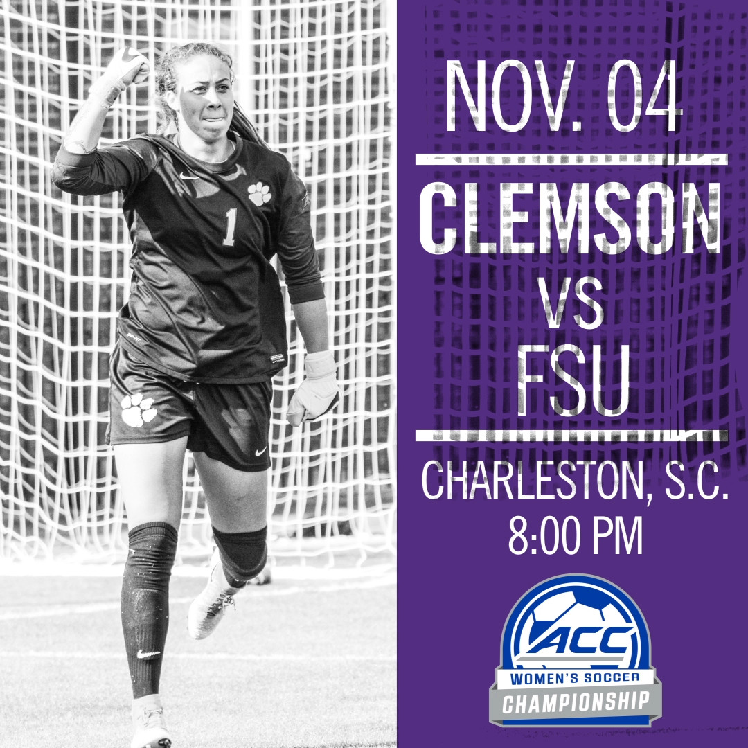 No. 9 Clemson Faces No. 13 Florida State in ACC Semifinals Friday in Charleston