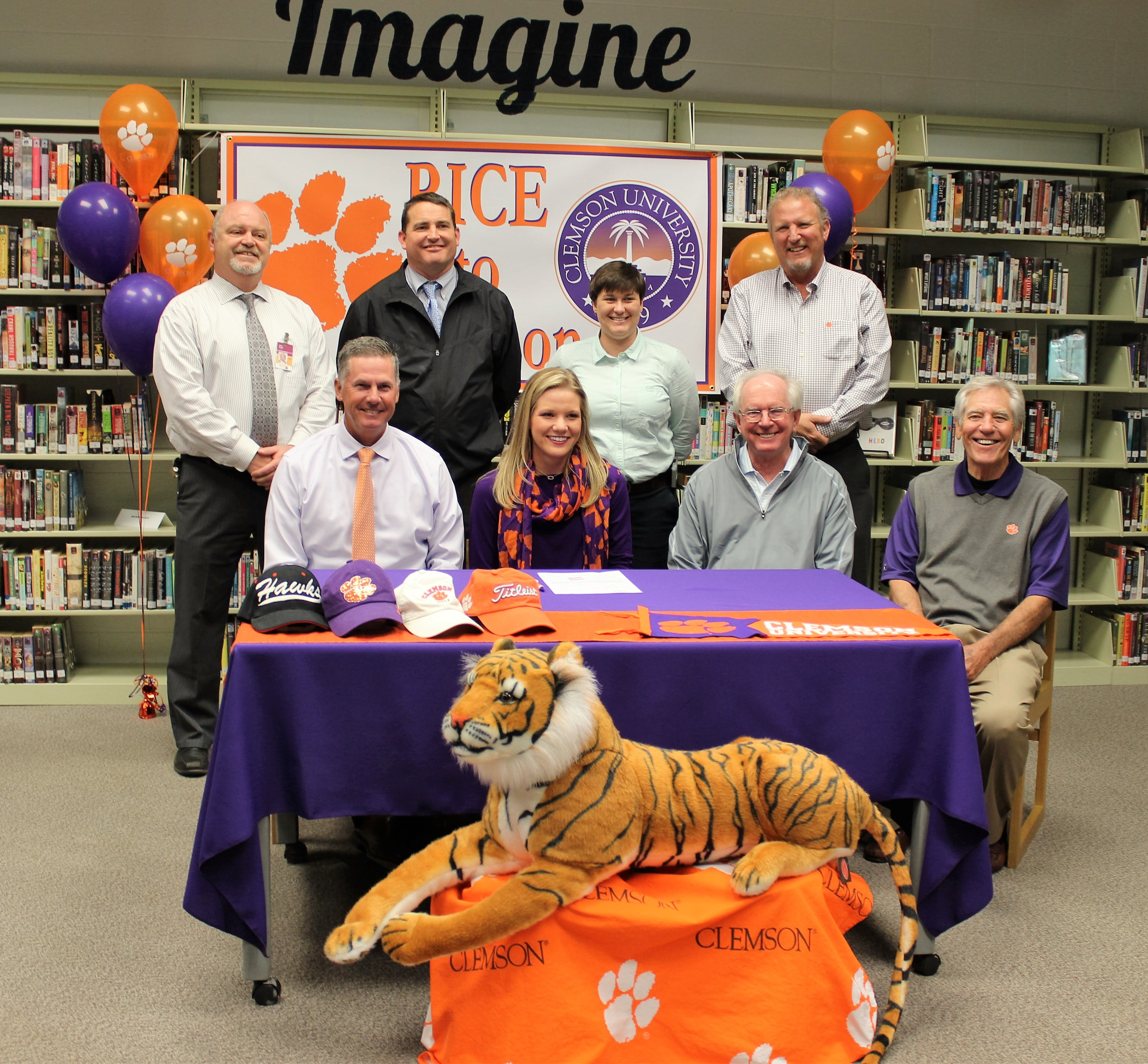 Rice Signs with Clemson