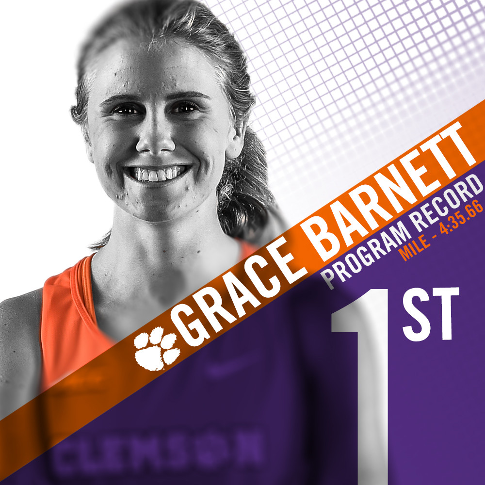 Barnett Bests Program Record In Season Opener