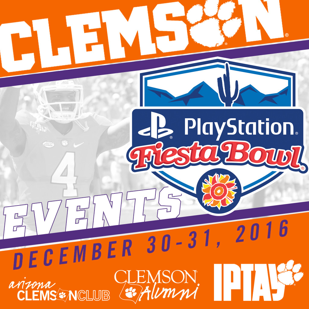 Join Us For These Clemson Events In Arizona!