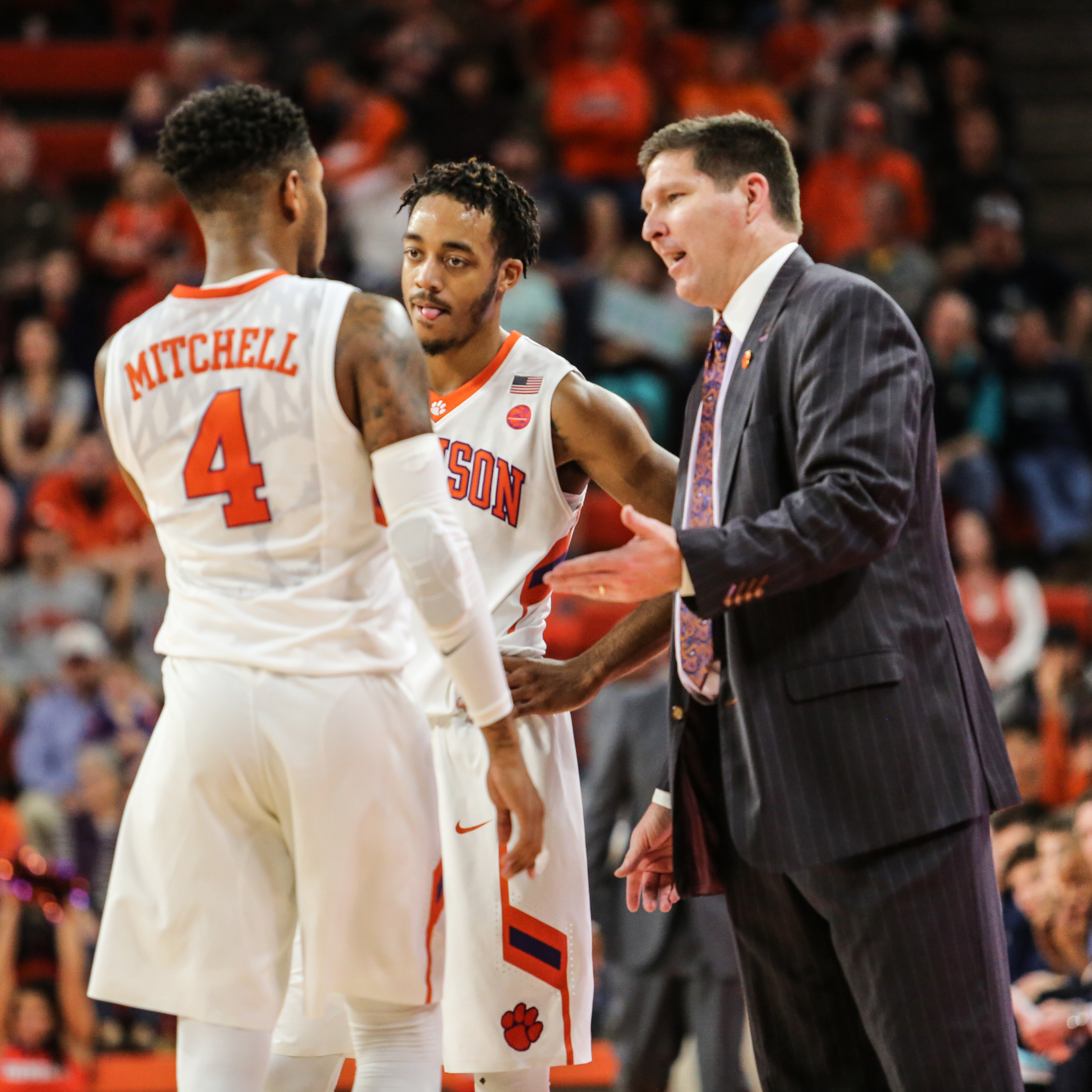 Clemson Conference Home Games Announced