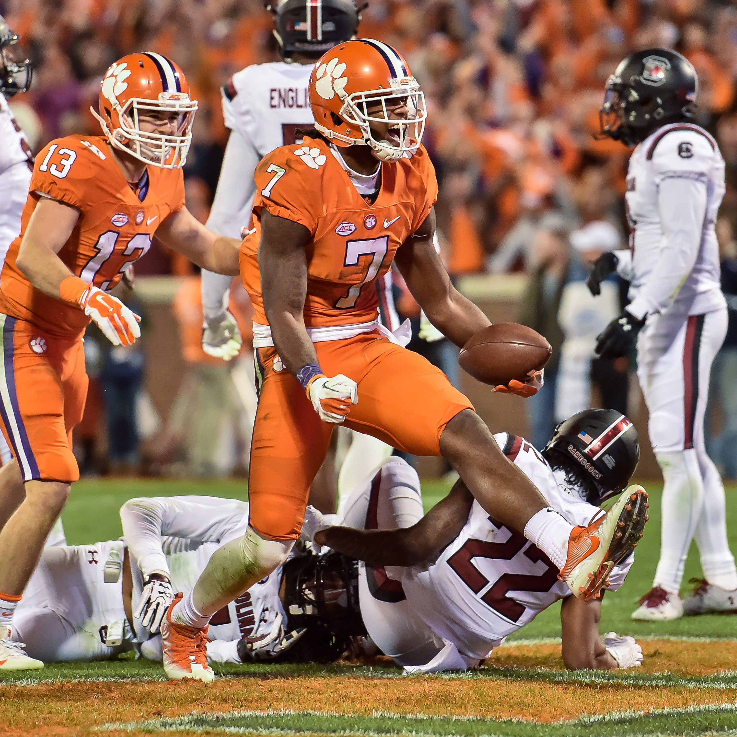 Four Tigers Named Walter Camp All-Americans