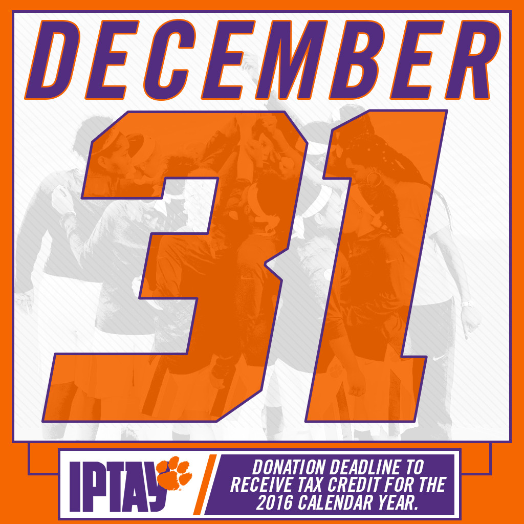 IPTAY Year End Giving