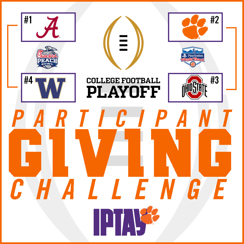 Giving Challenge Renewed For 2016 College Football Playoff