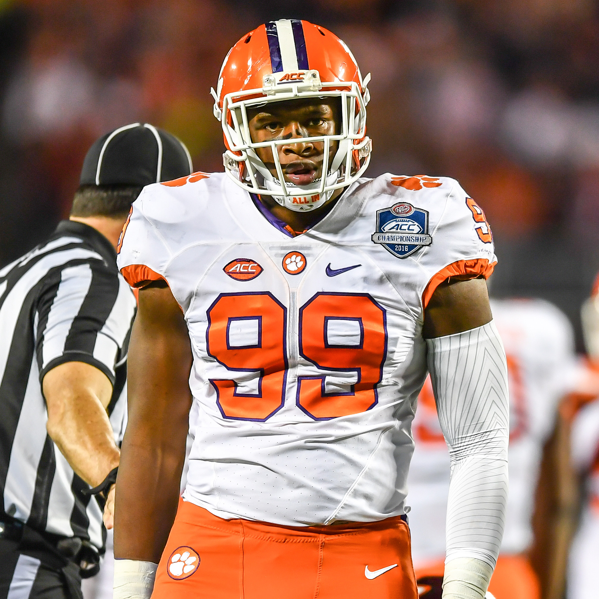 Ferrell Named ACC Defensive Lineman of the Week
