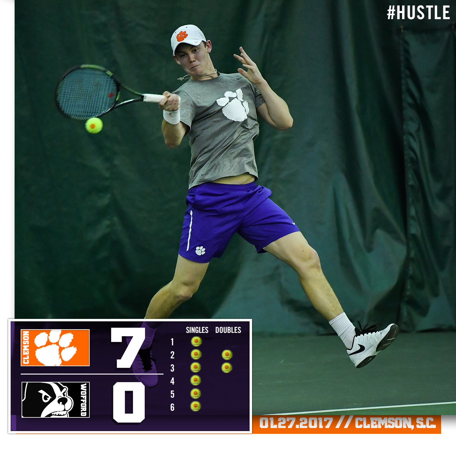 Tigers Sweep Wofford