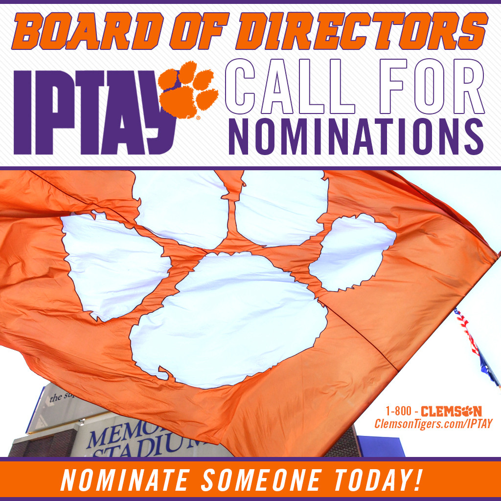 Call For Nominations To The IPTAY Board