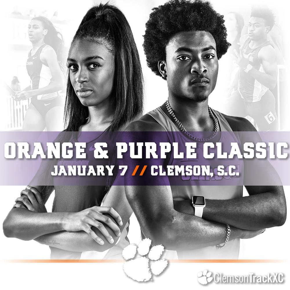 Clemson Debuts New Track In Orange & Purple Classic