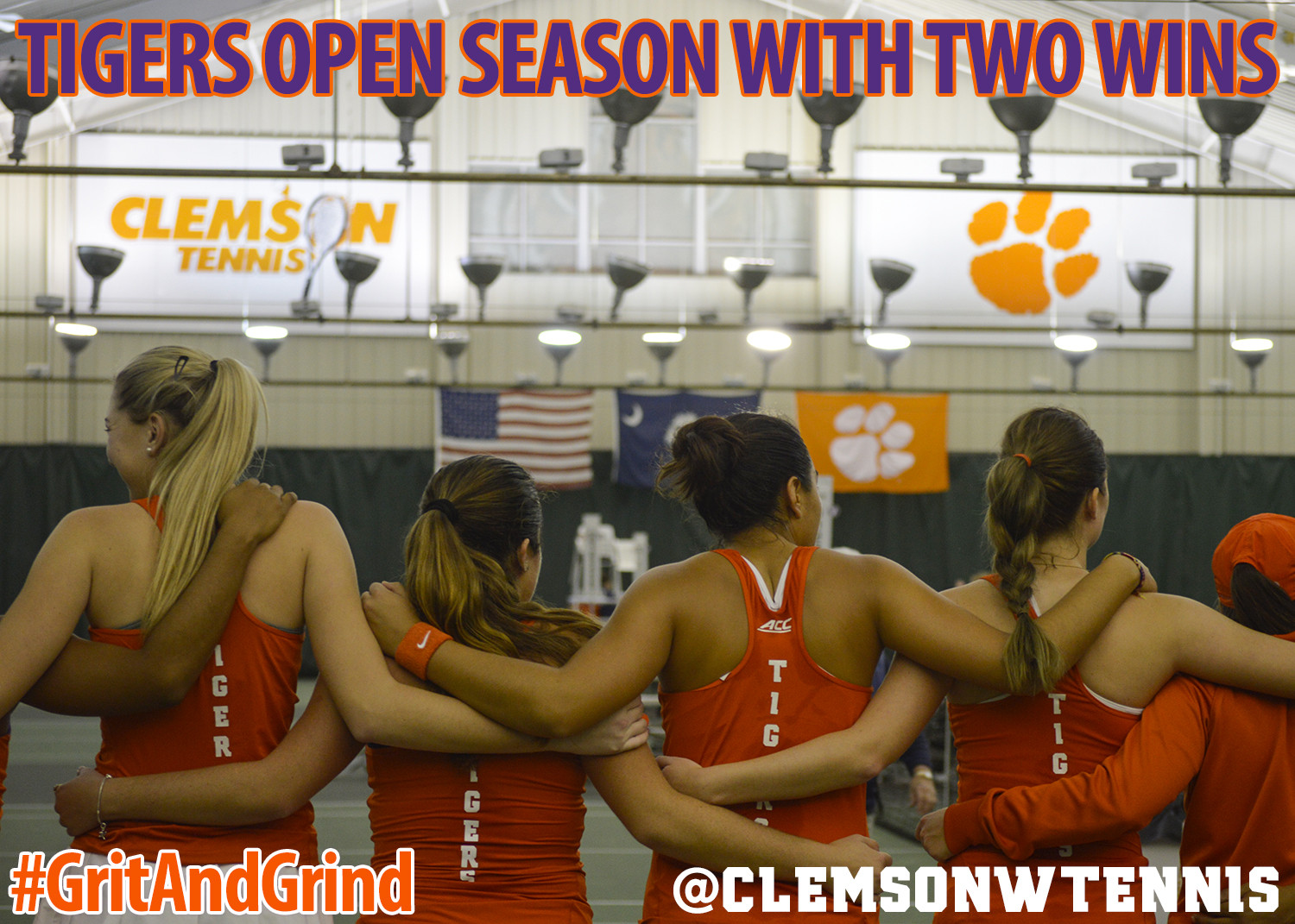 Tigers Open Season with Wins over Charlotte & Charleston Southern